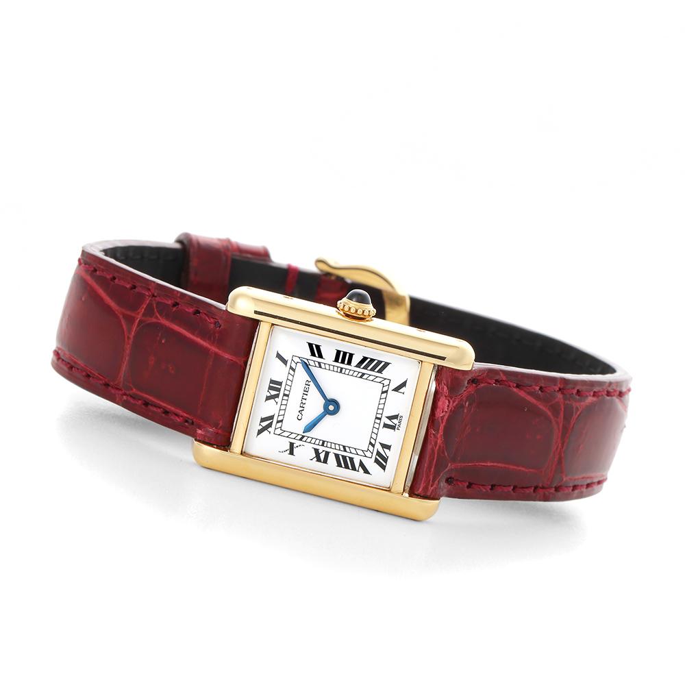 Cartier タンク SM PARIS