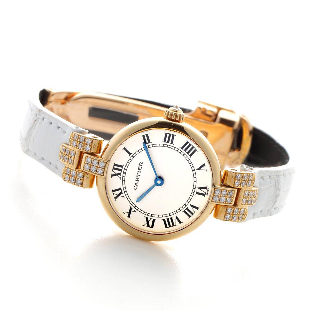 Cartier【1990年代】ヴァンドーム SM ラグダイヤモンド