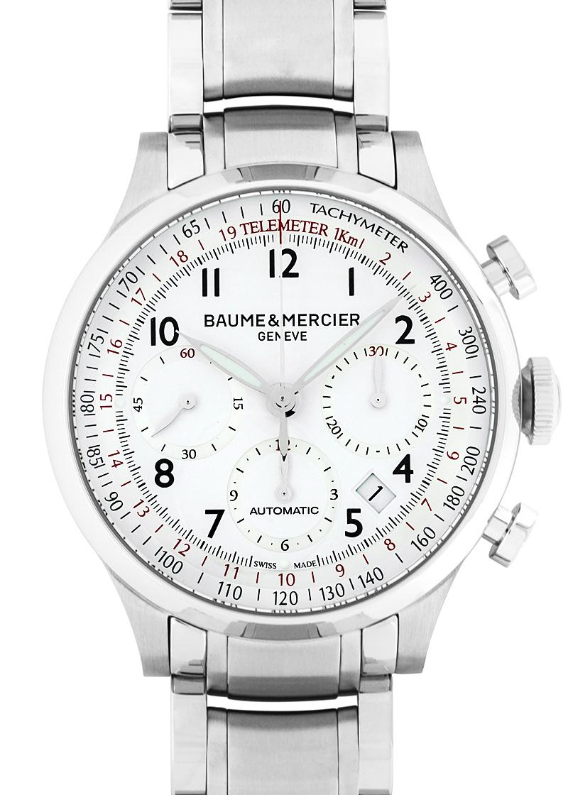 Baume & Mercier【ボーム&メルシェ】 MOA10061 腕時計 /ステンレススティール メンズ