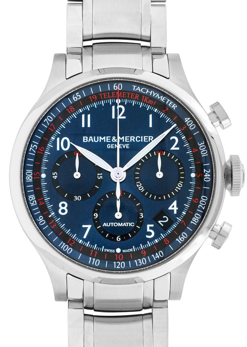 Baume & Mercier【ボーム&メルシェ】 M0A10066 腕時計 /ステンレススティール メンズ