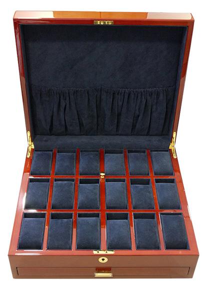 ブーベン&ゾルウェッグ ガバナー ガバナー コレクションボックス ウッド 24本収納 24本収納 ウッド, ナオカワソン:de89e5ce --- rigg.is