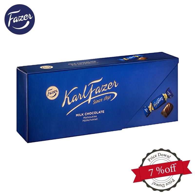 フィンランドお土産の定番・ファッツェルのチョコレート カール・ファッツェル ミルクチョコレート(270g 箱入り) KarlFazer フィンランド 北欧 サスティナブル 輸入菓子 高級 プレゼントプチギフト老舗