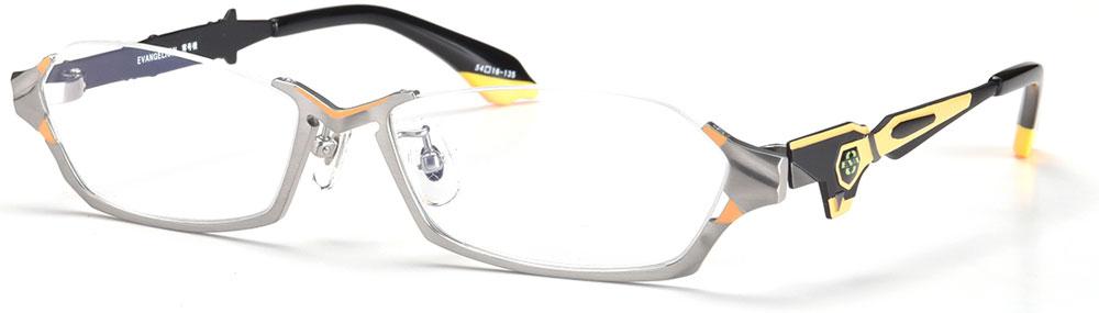 エヴァンゲリオン EVANGELION 眼鏡 メガネ 零号機 ブルーカットレンズ クロス付き