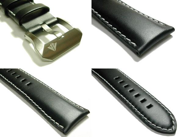 23mm 시민 CITIZEN 시계 밴드 검정 프로 마스터 PMV65-2272 용 송아지 가죽 벨트 02P30Nov14