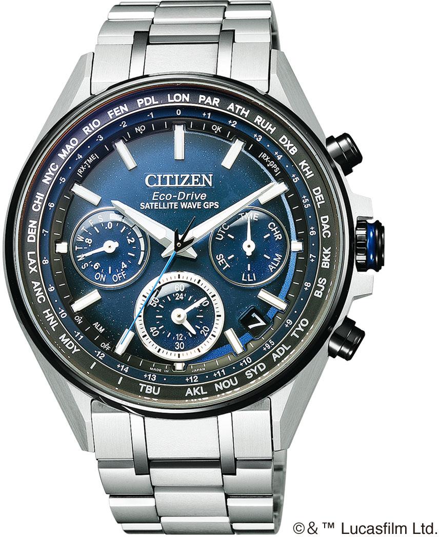 ☆腕時計 シチズン CITIZEN アテッサ サテライトウェーブ F950 CC4005-63L スターウォーズ限定モデル 1,200本 GPS衛星電波時計 正規品