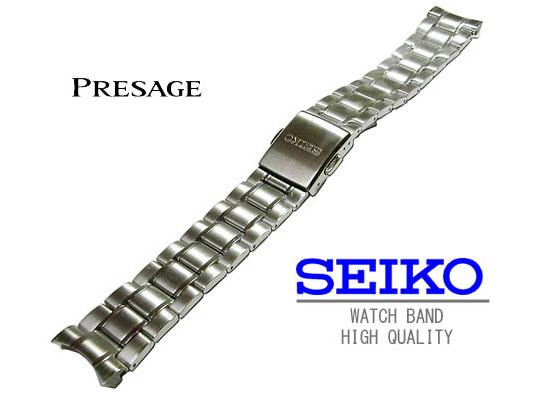 ☆☆ セイコープレザージュの純正のベルト 送料無料 20mm 時計バンド セイコー 純正ベルトステンレスプレザージュ 国内正規総代理店アイテム SARW001 人気急上昇 SARX007 SARX005 SARX001 SARX019にも取り付け可能M0PF111J0 純正バンド SARX003 SARW003