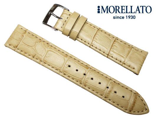 モレラート MORELLATO 時計バンド  ボーレ BOLLE カーフ型押 ダークベージュ