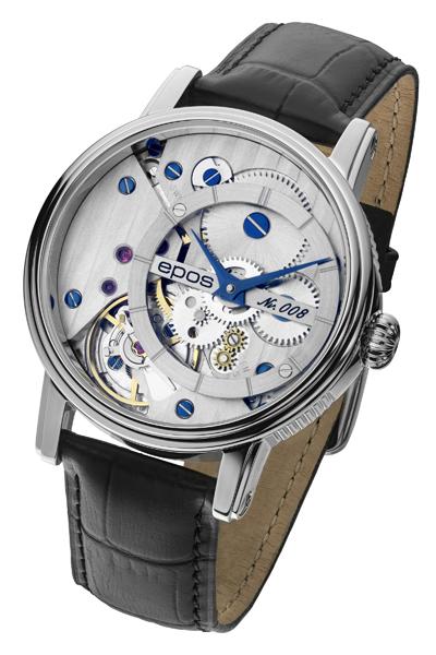 エポス EPOS 3435CGSL-LTD999 腕時計 メンズ Verso ヴァーソ スケルトン 世界限定 999本 正規品