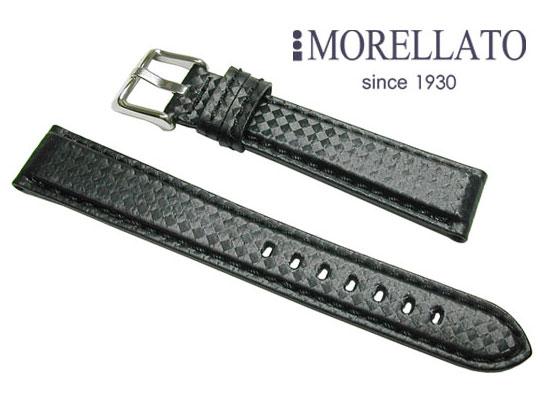 モレラート MORELLATO 時計バンド  バイキング BIKING ラバー カーボン型押 ブラック/ブラックステッチ 02P10Jan15