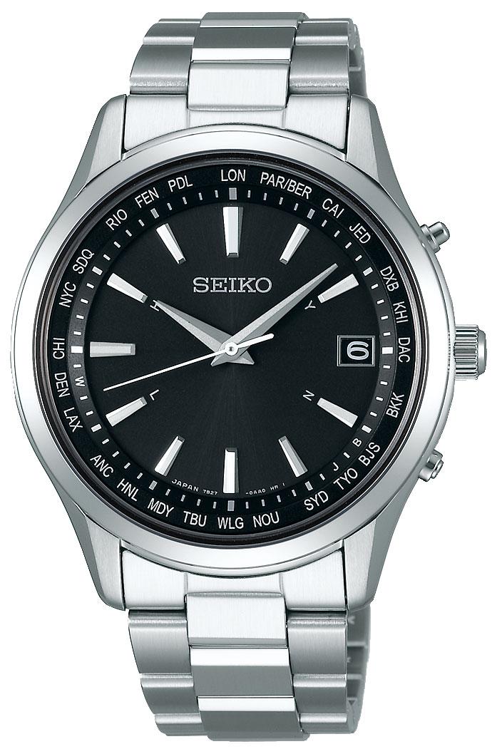 腕時計 セイコー セイコーセレクション SBTM273 ソーラー電波 メンズ ワールドタイム 正規品 ショッピングローン無金利qSUMVpzG