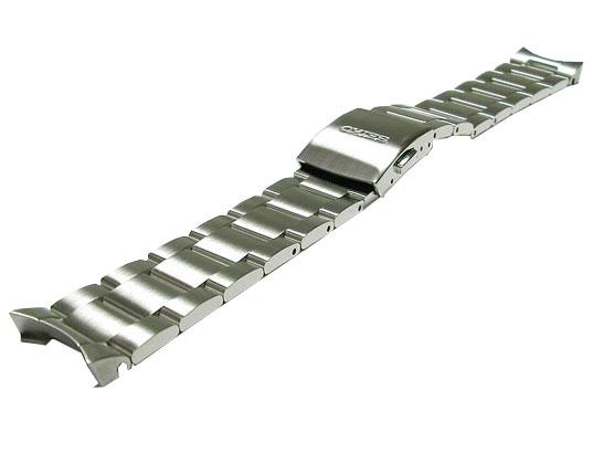 20mm セイコー 時計バンド  アルピニスト純正ステンレスバンド SARB013 SARB015 SARB017に装着可能D3A7AB
