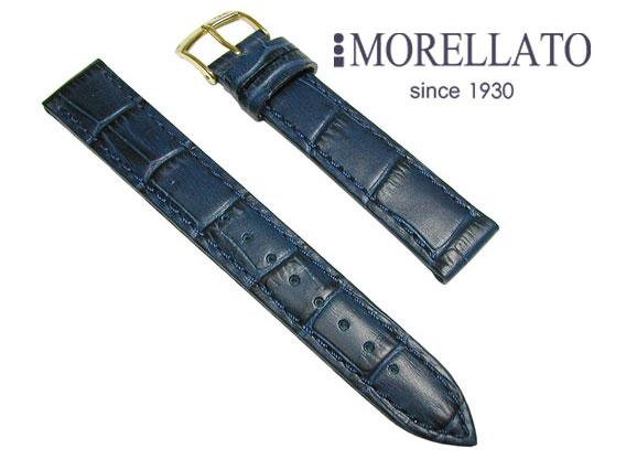 モレラート MORELLATO 時計バンド  ボーレ BOLLE カーフ型押 ダークブルー 02P10Jan15