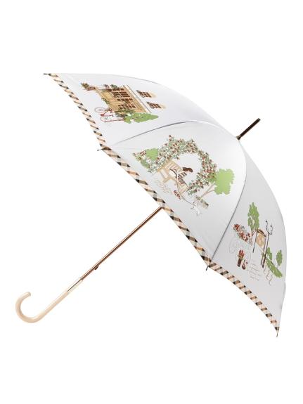 MOONBAT公式オンラインショップ 雨傘 長傘 DAKS ダックス 街並み 公式ムーンバット グラスファイバー お買得 日本製 誕生日 ギフト レディース 軽量 定価