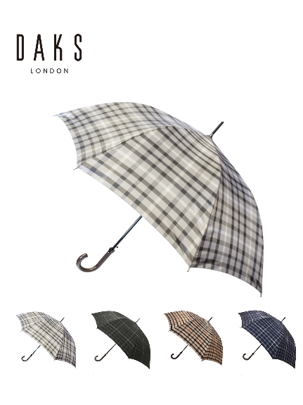 MOONBAT公式オンラインショップ 雨傘 ランキングTOP10 長傘 DAKS ダックス チェック柄 公式ムーンバット グラスファイバー ジャンプ式 高品質 軽量 メンズ 日本製 ギフト 誕生日