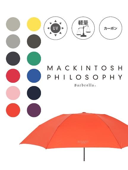 WEB限定 MOONBAT公式オンラインショップ 雨傘 折りたたみ傘 MACKINTOSH PHILOSOPHY マッキントッシュ フィロソフィー マッキントッシュフィロソフィー UV バーブレラ 軽量 無地 レディース メンズ NEW ARRIVAL 公式ムーンバット