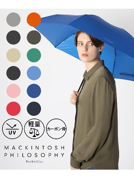 MACKINTOSH_PHILOSOPHY(マッキントッシュ_フィロソフィー)通販|【雨傘】_マッキントッシュフィロソフィー_(MACKINTOSH_PHILOSOPHY)_バーブレラ_無地_折りたたみ傘_【公式ムーンバット】_レディース_メ