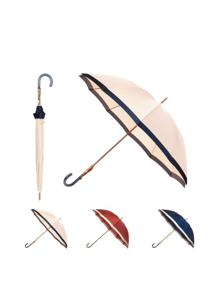 MOONBAT公式オンラインショップ 最新アイテム 雨傘 長傘 OTHER BRAND アザーブランド バイカラー GRACY 日本製 お気に入 グレイシー 12本骨 公式ムーンバット