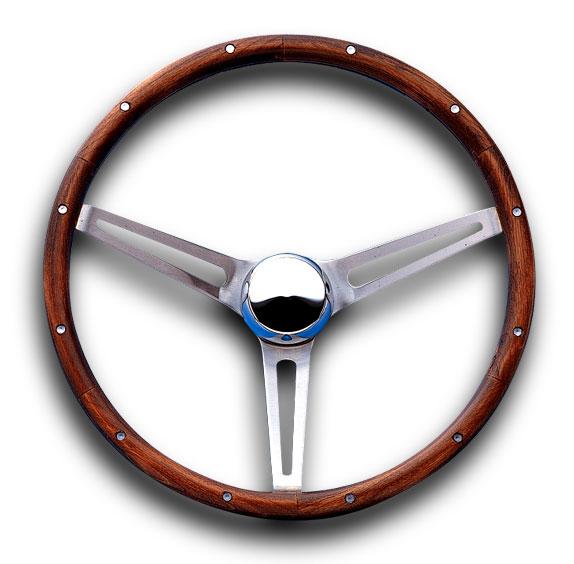 グラント クラシック GM モデル ウッド ステアリング ホイール 37cm