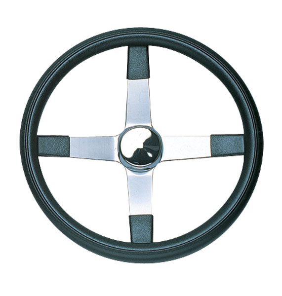 Grant 4スポーク No - Hole Steering Wheel 42cm