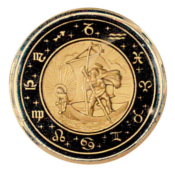 St. Christopher ステアリング ホーン ボタン