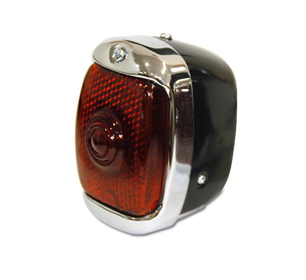 Old School テール ランプ ブラック<モーターサイクル用>