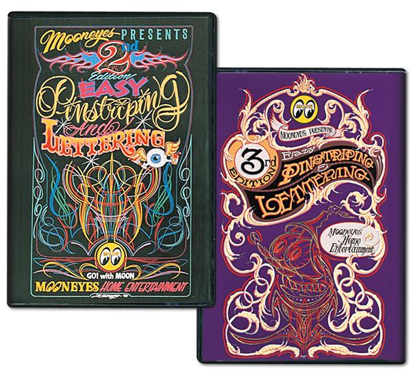Pinstriping HOWTO DVD