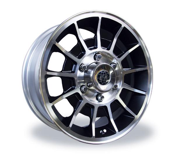 ENKEI / MOONEYES (エンケイ / ムーンアイズ) Black BAJA II Wheel 16×7J 6H
