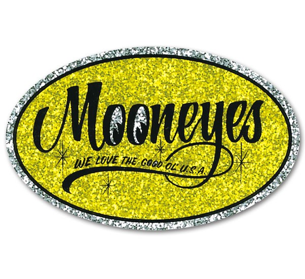 MOONEYES ムーンアイズ 気質アップ 超定番 ステッカー Oval
