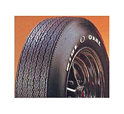 Firestone ワイド オーバル レイズド ホワイト レター タイヤ G70-14
