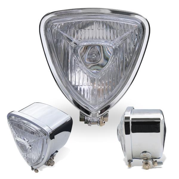 Chrome Triangle モーターサイクル ヘッドライト