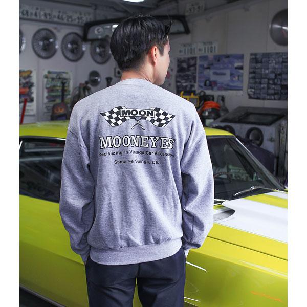 MOON Checker Flag運動衫