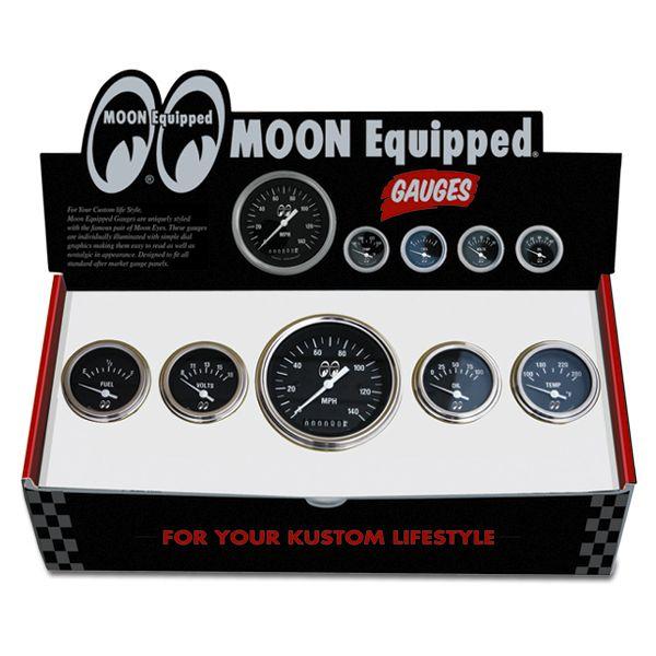 MOON Equipped (ムーン イクイップド) 5 ゲージ セット<ブラック フェイス>