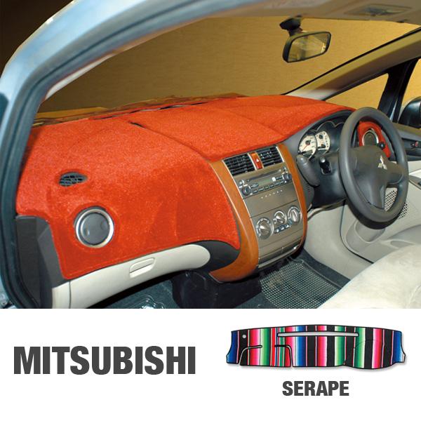 MITSUBISHI(三菱)用 オリジナル サラぺ DASH MAT(ダッシュマット)