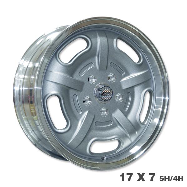 Speed Master Wheel 17×7 5H/4H<マググレー>
