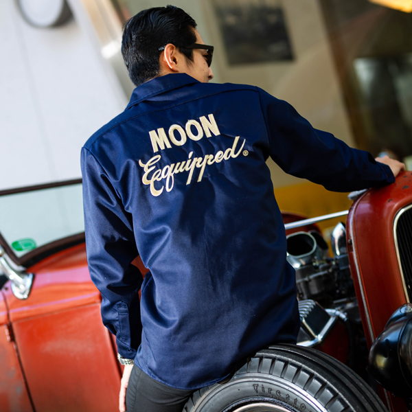 【30%OFF】MOON Equipped ロング スリーブ ワーク シャツ