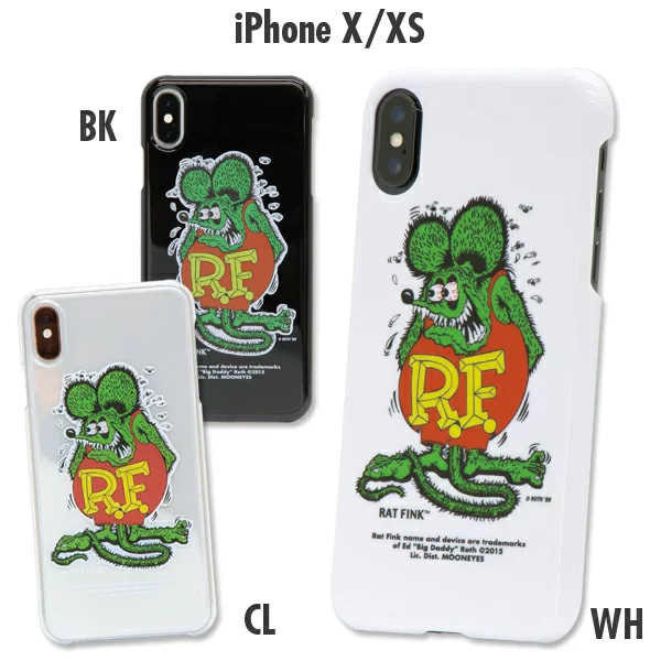 Rat Fink iPhone X, XS hard cover