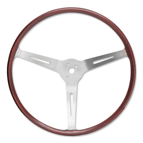 FLAT4 GT ウッド ステアリング ホイール 15