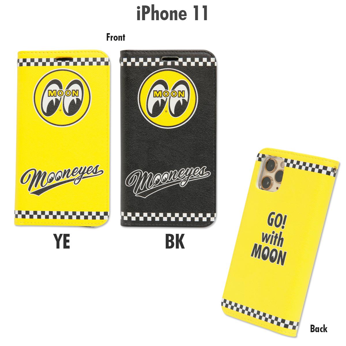 MOONEYES iPhone 11 フリップ ケース