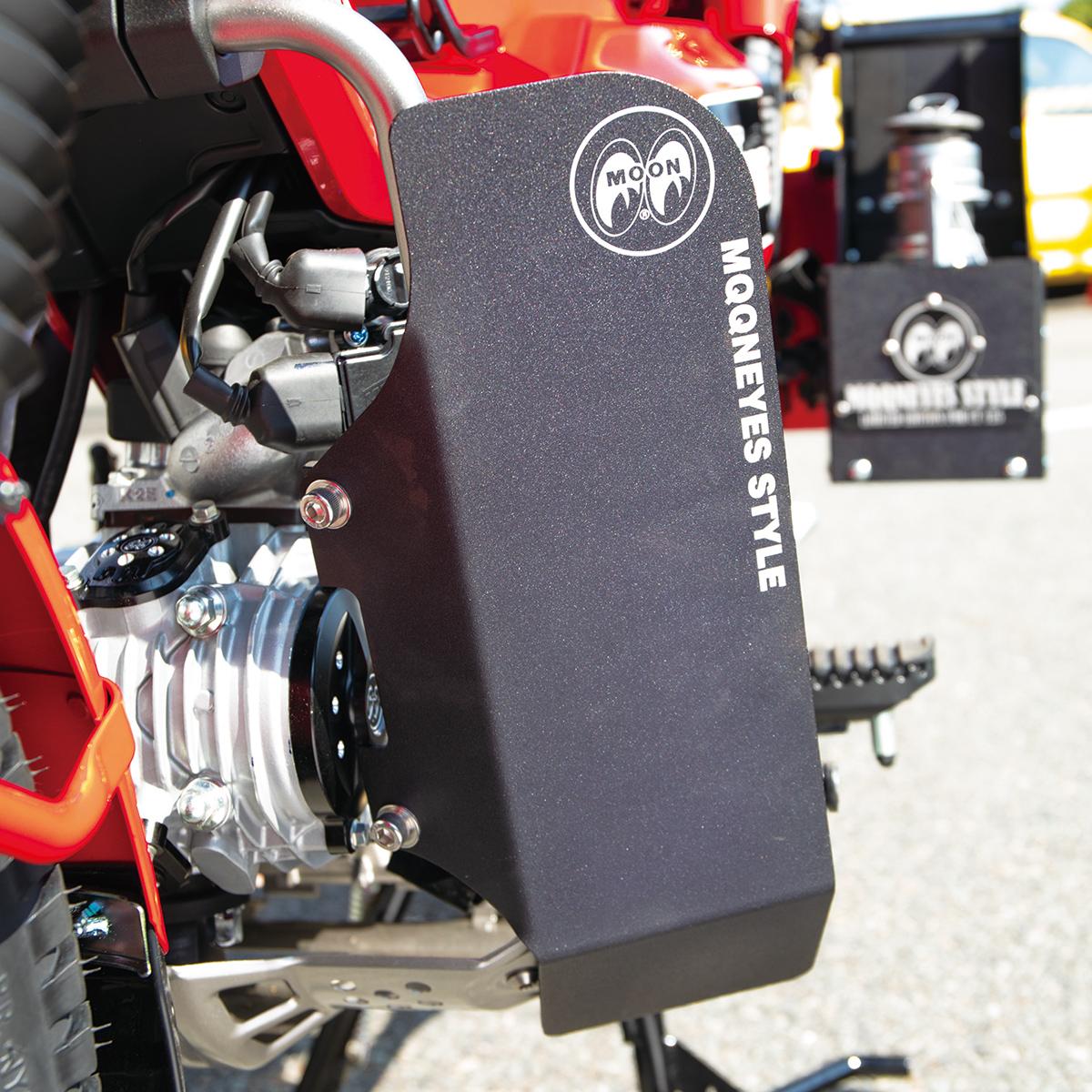 ムーンアイズ ホンダ ハンターカブ CT125 カスタムパーツ バイク 今ダケ送料無料 モーターサイクル バンパー 時間指定不可 プロテクション レッグシールド ガード アクセサリー レッグガード