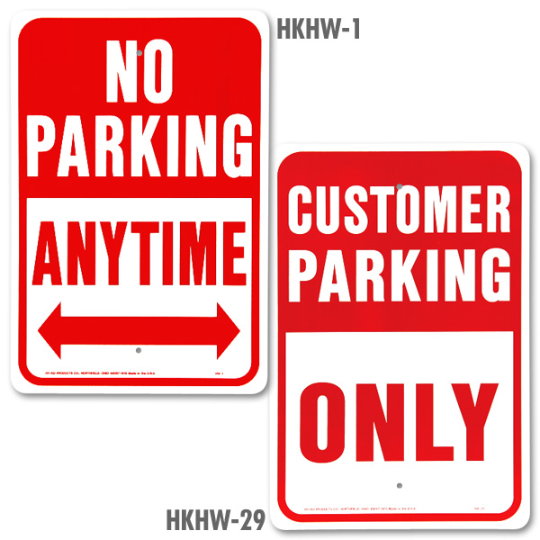 Heavy-Duty Aluminum Traffic Signs