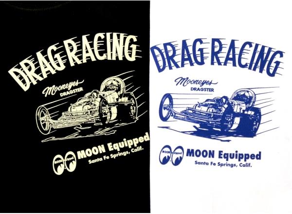 MOONEYES (mooneyes) Dragster t-shirt (Big size)