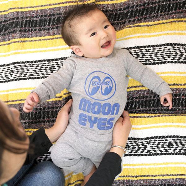 5494103bcf MOONEYES  MOON Baby pajamas