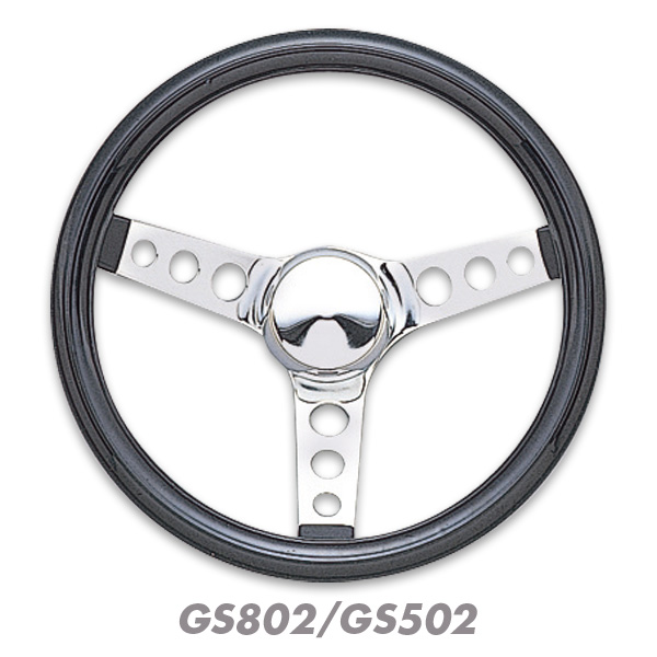 Grant Classic Cruisin' Black Vinyl steering Wheels 31cm / 34cm