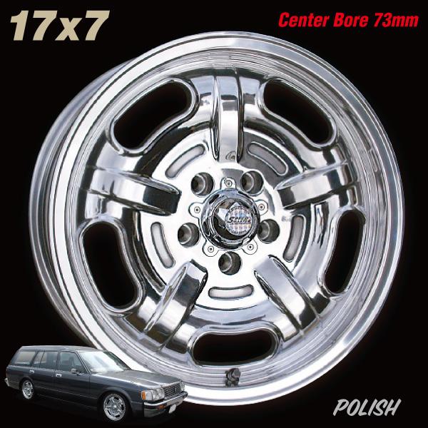 Speed Master Wheel 17×7 5H 114.3 +25 センターボア73mm<ポリッシュ>