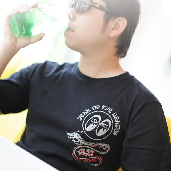 HONMOKU STYLE dragon T-shirt