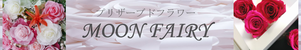プリザーブドフラワー MOON FAIRY:プリザーブドフラワー取扱店