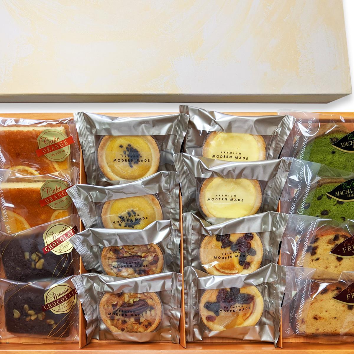 洋菓子16個入りギフトセット