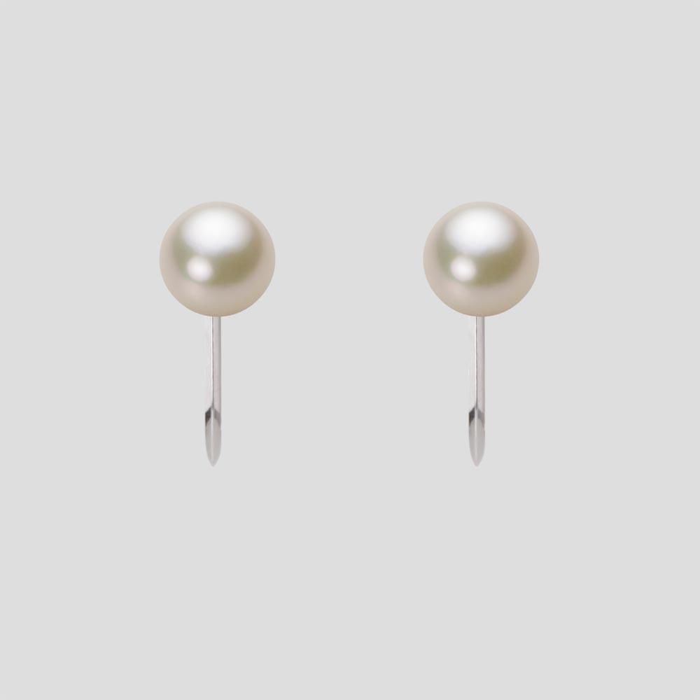 あこや真珠 パール イヤリング 5.5mm アコヤ 真珠 イヤリング K14WG ホワイトゴールド レディース HA00055R13CG0Y02W0