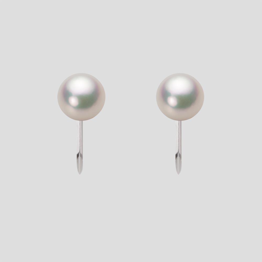 あこや真珠 パール イヤリング 6.0mm アコヤ 真珠 イヤリング K14WG ホワイトゴールド レディース HA00060R11CW0Y02W0