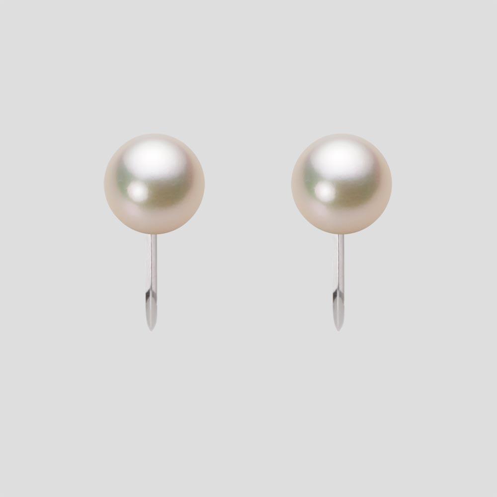 あこや真珠 パール イヤリング 7.0mm アコヤ 真珠 イヤリング Pt900 プラチナ レディース HA00070R11CG0Y09P0